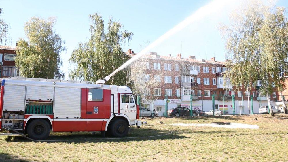 В СОШ Котовска провели учебную эвакуацию