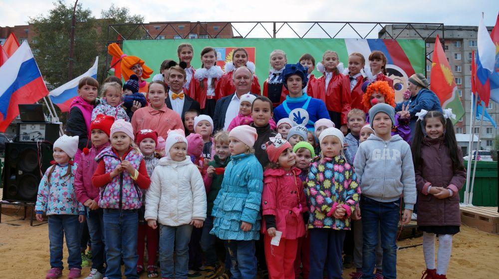 В северном районе Котовска появилась новая детская площадка