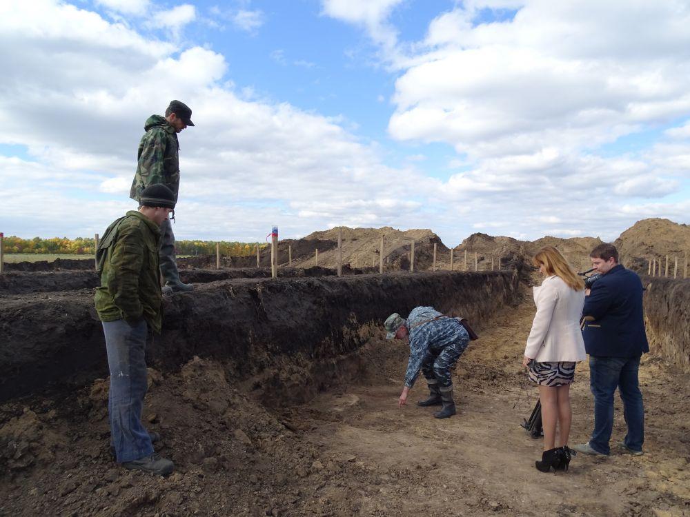 Подробно: раскопки в Новом Котовске