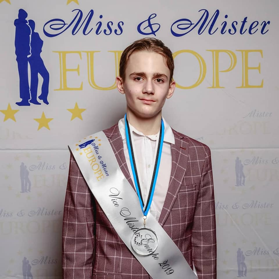 Котовский семиклассник стал «Вице-мистером Европа-2019»