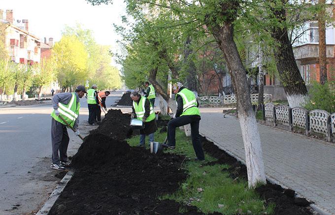 Продолжается благоустройство улицы Котовского