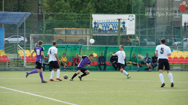 Котовские футболисты проиграли токарёвской команде