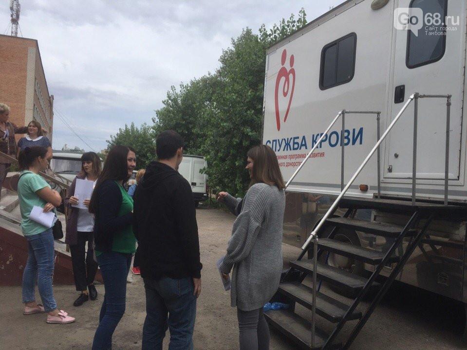 Котовчане приняли участие в Дне донора