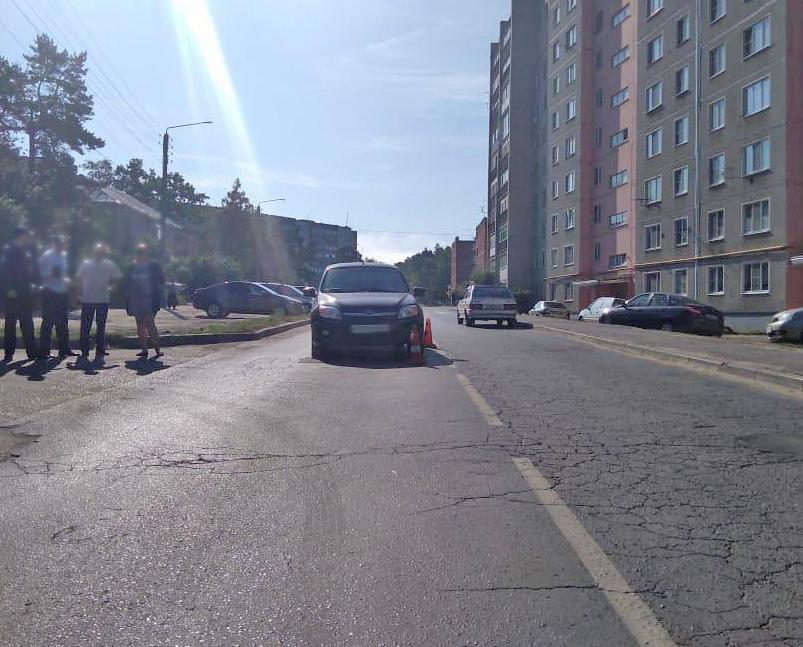 Котовский подросток на велосипеде попал под машину