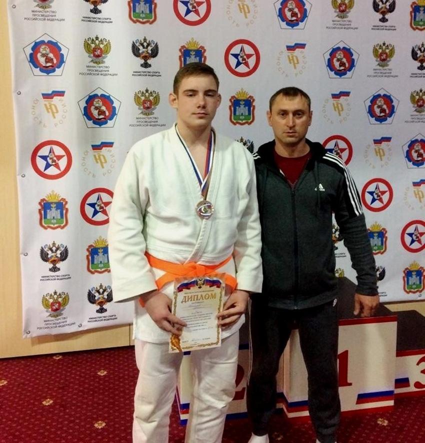 Котовский дзюдоист завоевал бронзовую медаль на Всероссийской гимназиаде