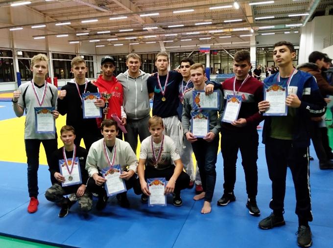 Котовские рукопашники завоевали 11 медалей