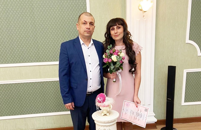 Котовский ЗАГС зарегистрировал 200-ый брак