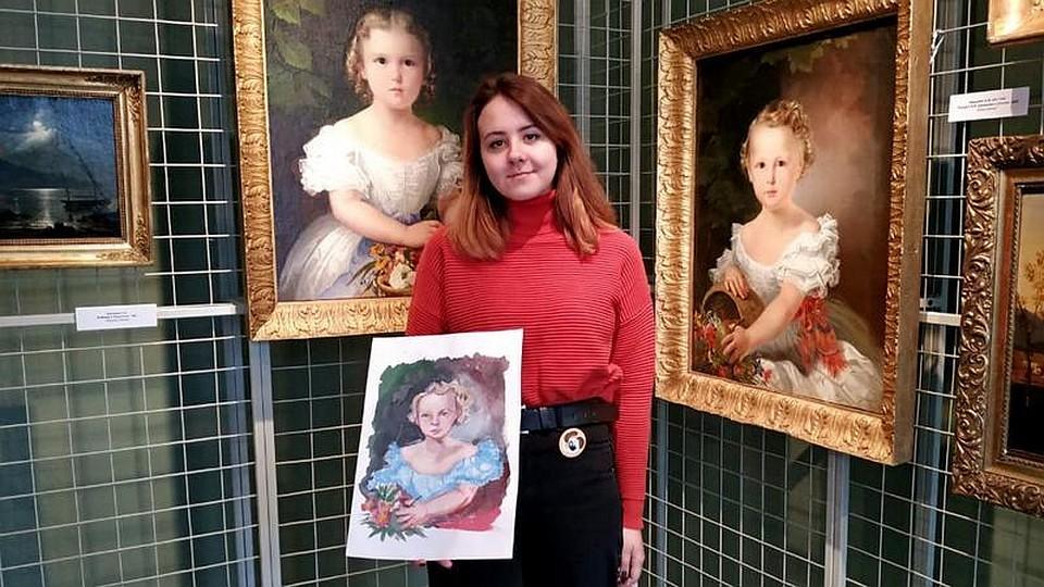 Котовская школьница стала лауреатом I степени на Всероссийском конкурсе юных художников