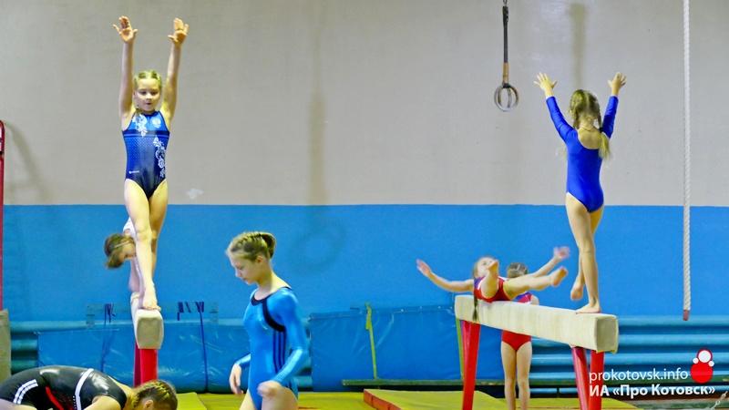 В Котовске прошло открытое первенство города по спортивной гимнастике