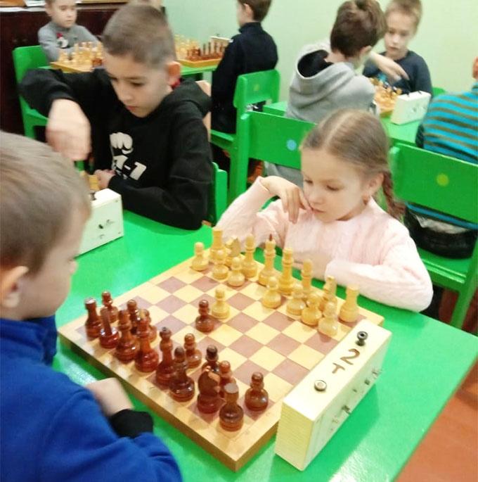 В клубе «Ладья» прошел детский турнир по быстрым шахматам