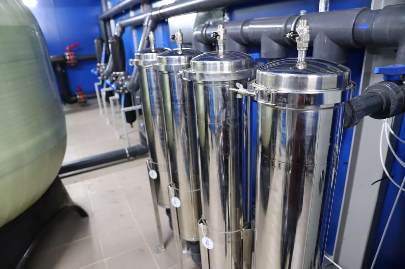 В Котовске запущена новая станция очистки воды