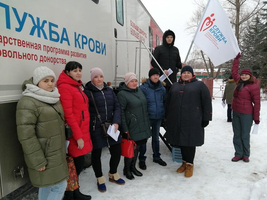 В Котовске прошёл массовый День донора