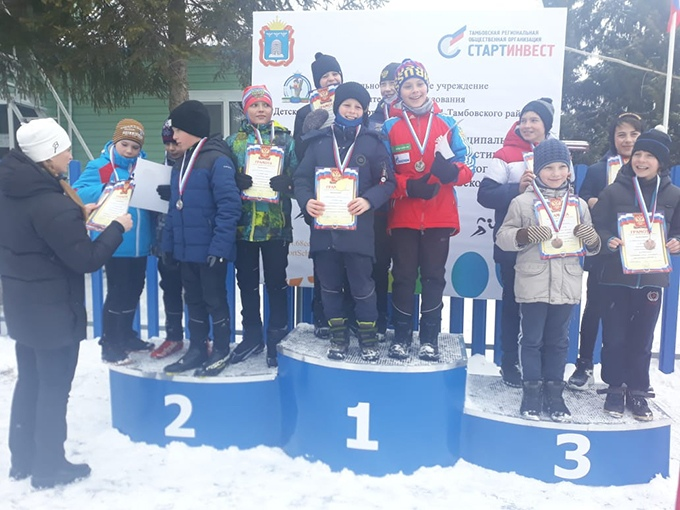 Юные котовские лыжники выиграли областное первенство