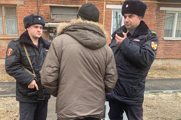 В Котовске задержан мужчина, находящийся в федеральном розыске