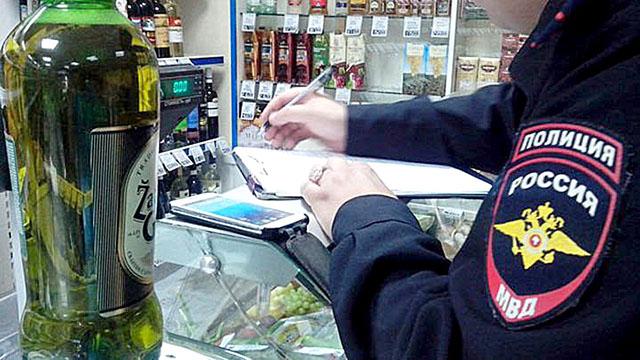 В котовском магазине повторно нарушили закон о продаже алкоголя несовершеннолетним