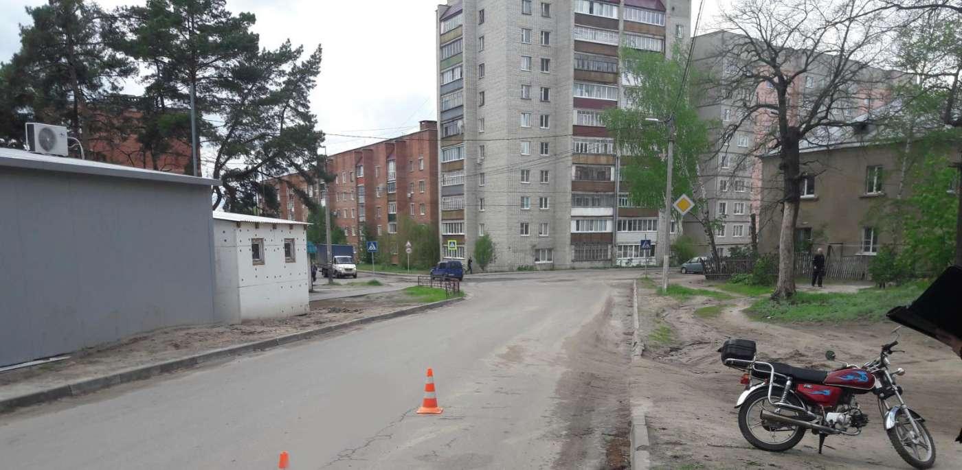 В Котовске мужчина на мопеде попал в ДТП