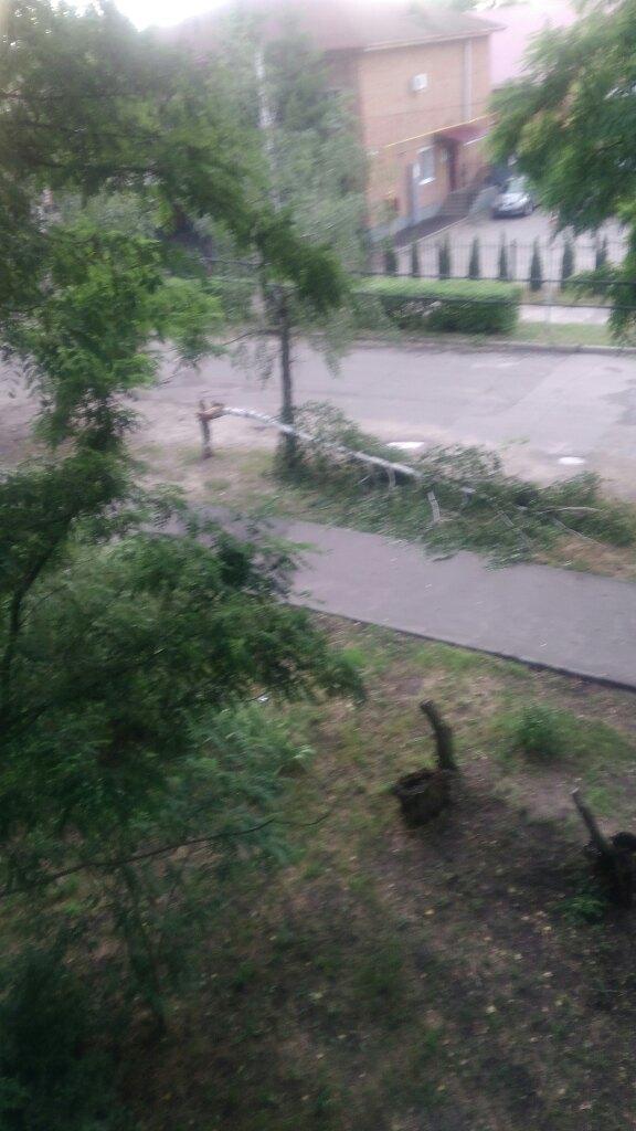 По Котовску прошёл ураган
