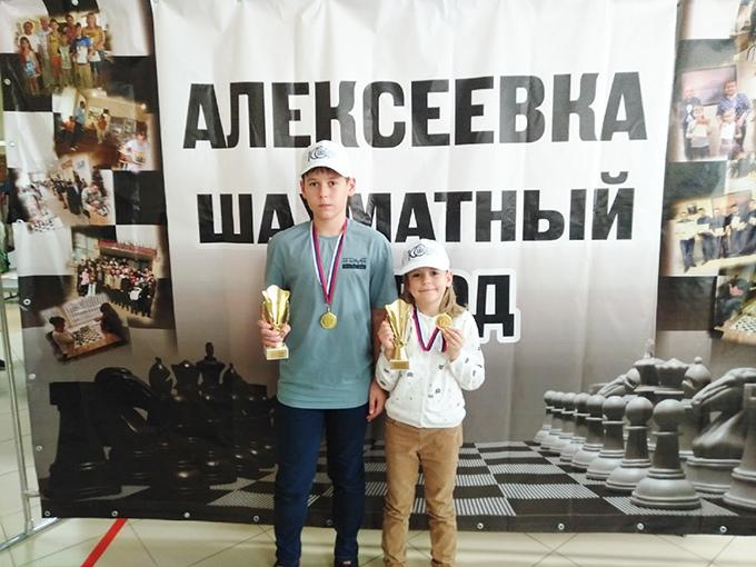 Котовчане Тихон и Серафима Поповы победили в межрегиональном детском турнире по быстрым шахматам