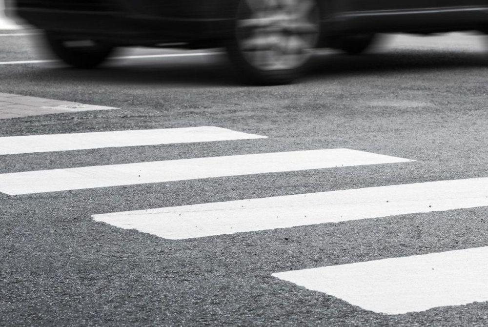 В Котовске легковушка сбила девушку на пешеходном переходе