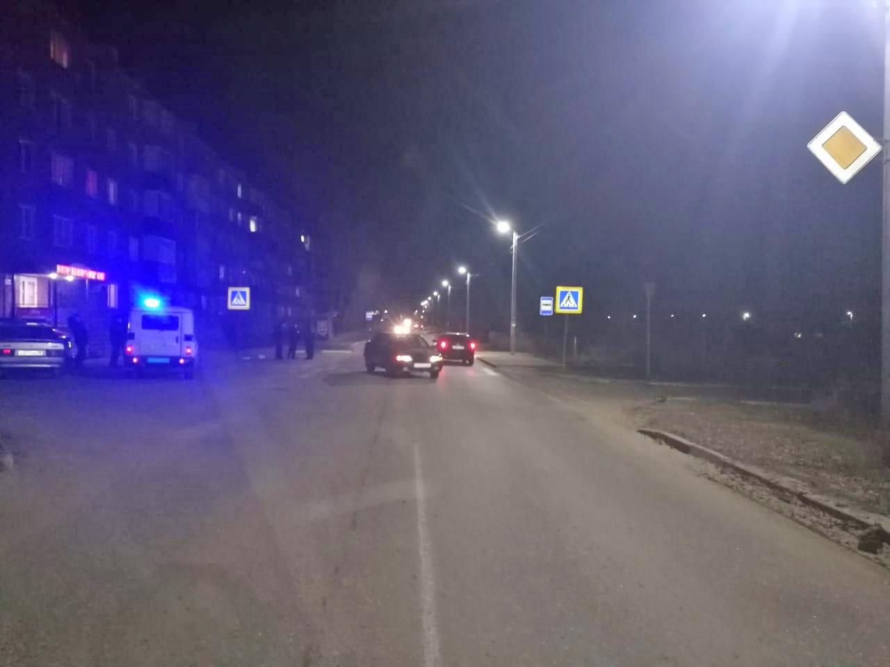 В Котовске во дворе дома сбили мужчину