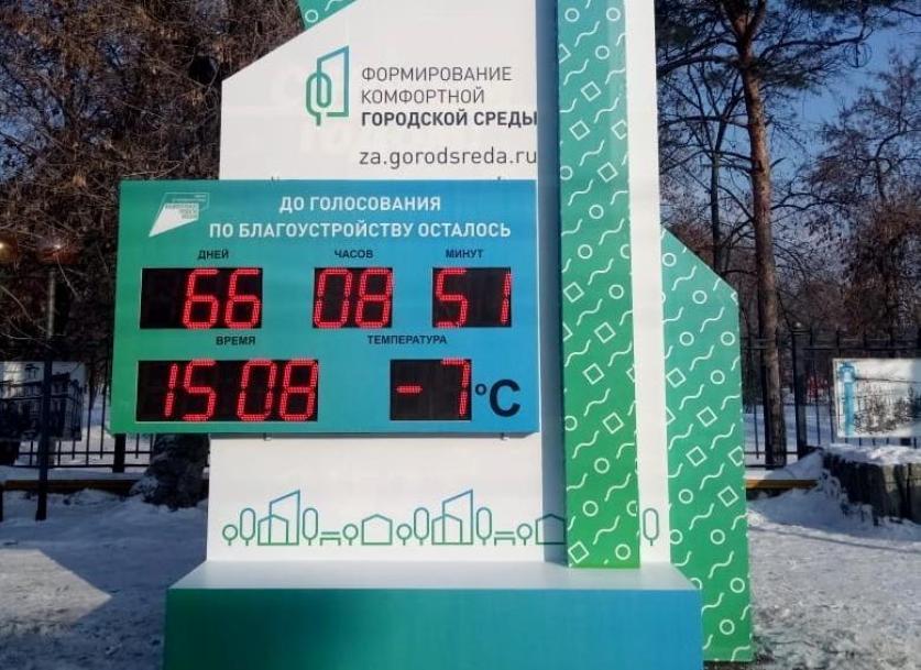 Котовчане смогут проголосовать за благоустройство общественных территорий