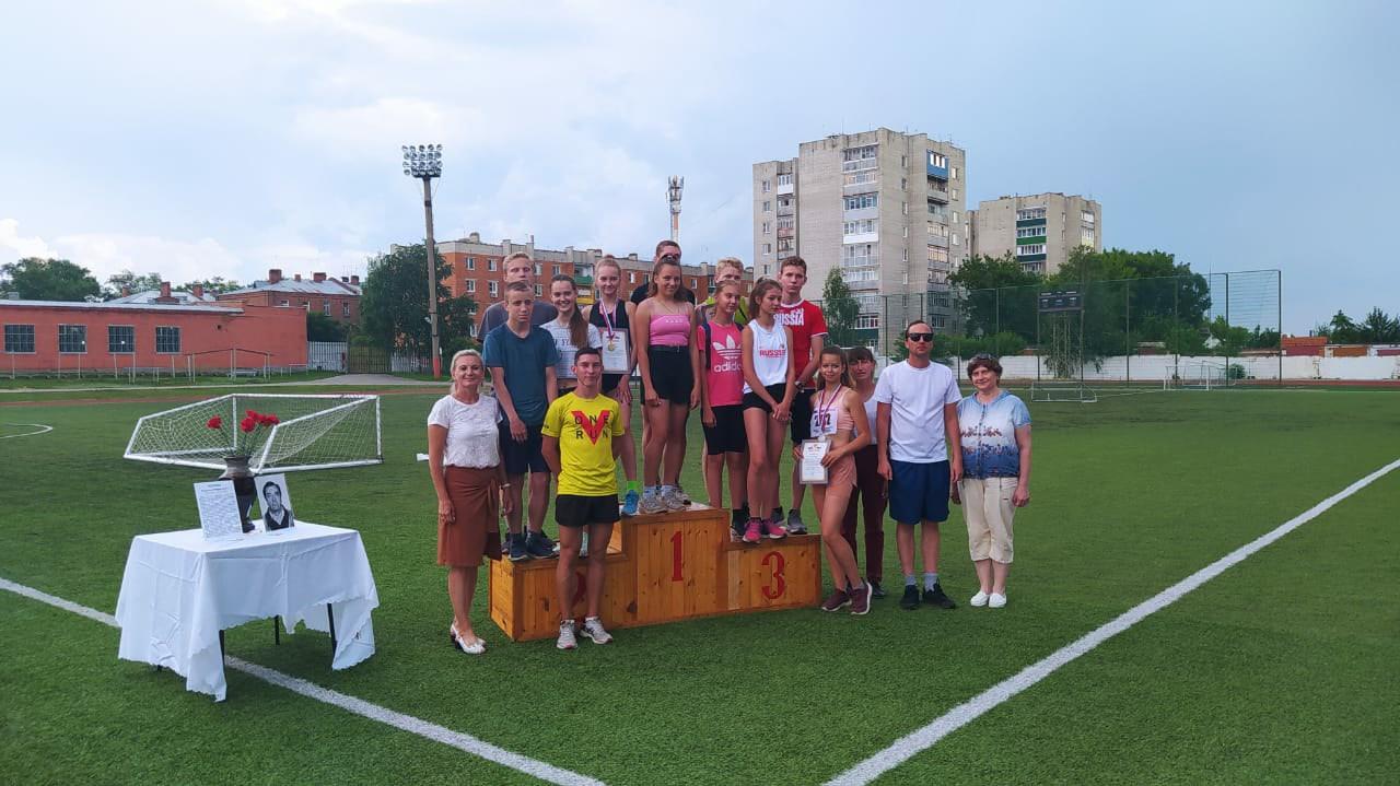 В Котовске проходит легкоатлетический мемориал памяти В. Р. Черняка