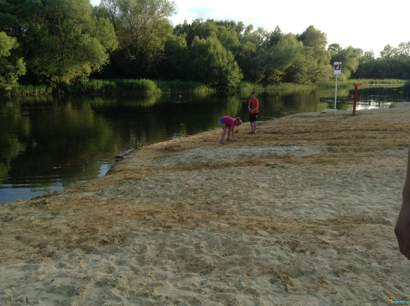 Специалисты запретили купаться на котовском пляже «Козий луг»