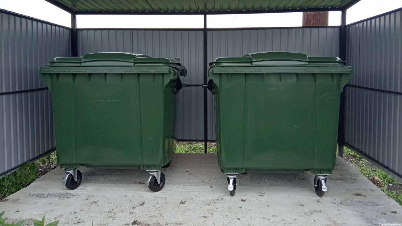 На контейнерных площадках Котовска поставят 100 новых контейнеров для сбора ТБО