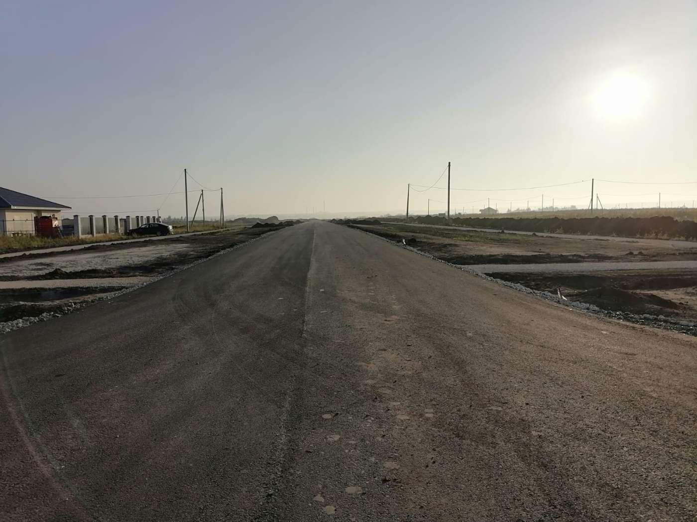 В «Новом Котовске» завершается строительство дороги в рамках нацпроекта «Жилье и городская среда»