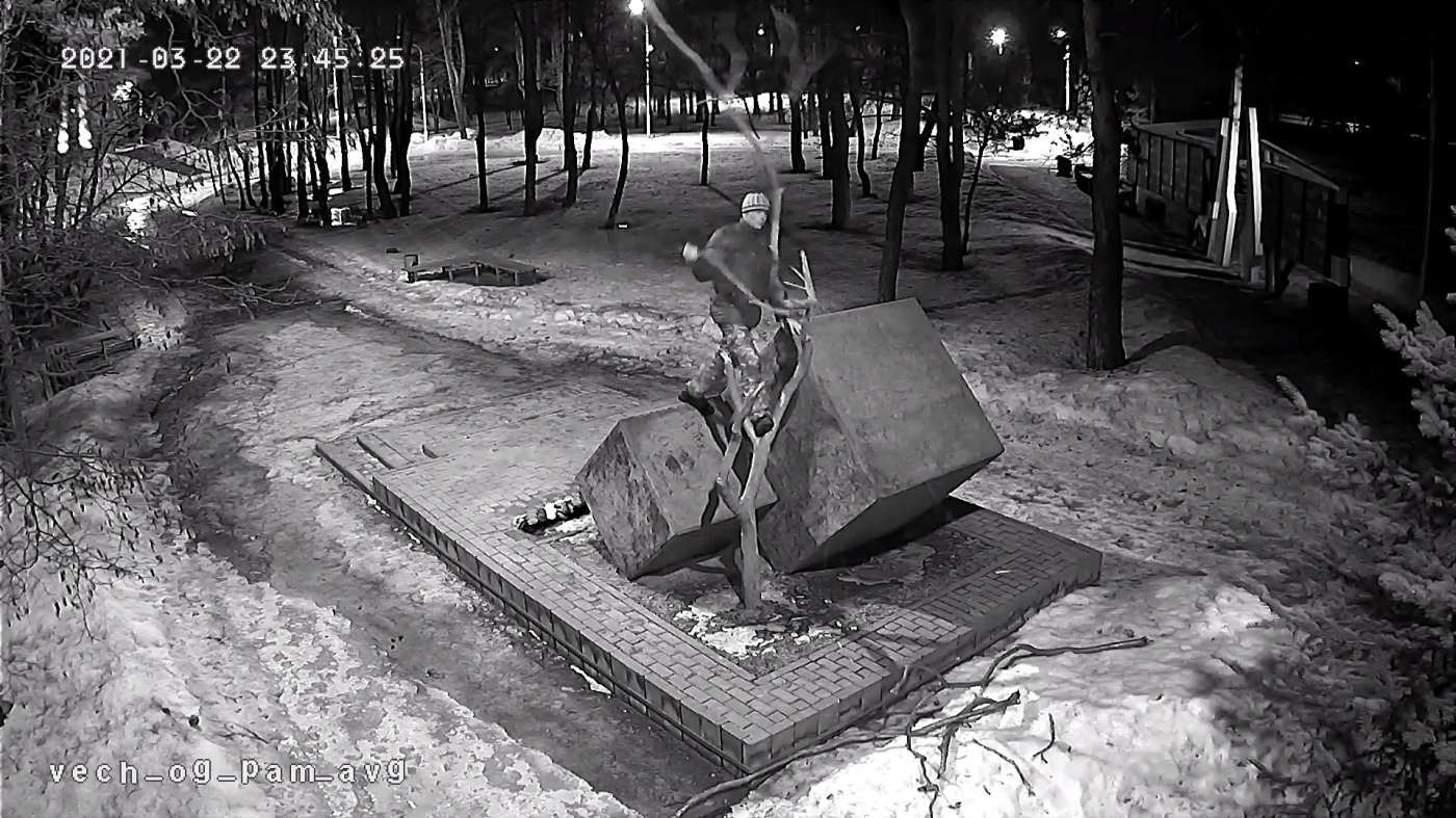 Котовчанин предстанет перед судом за осквернение мемориального комплекса